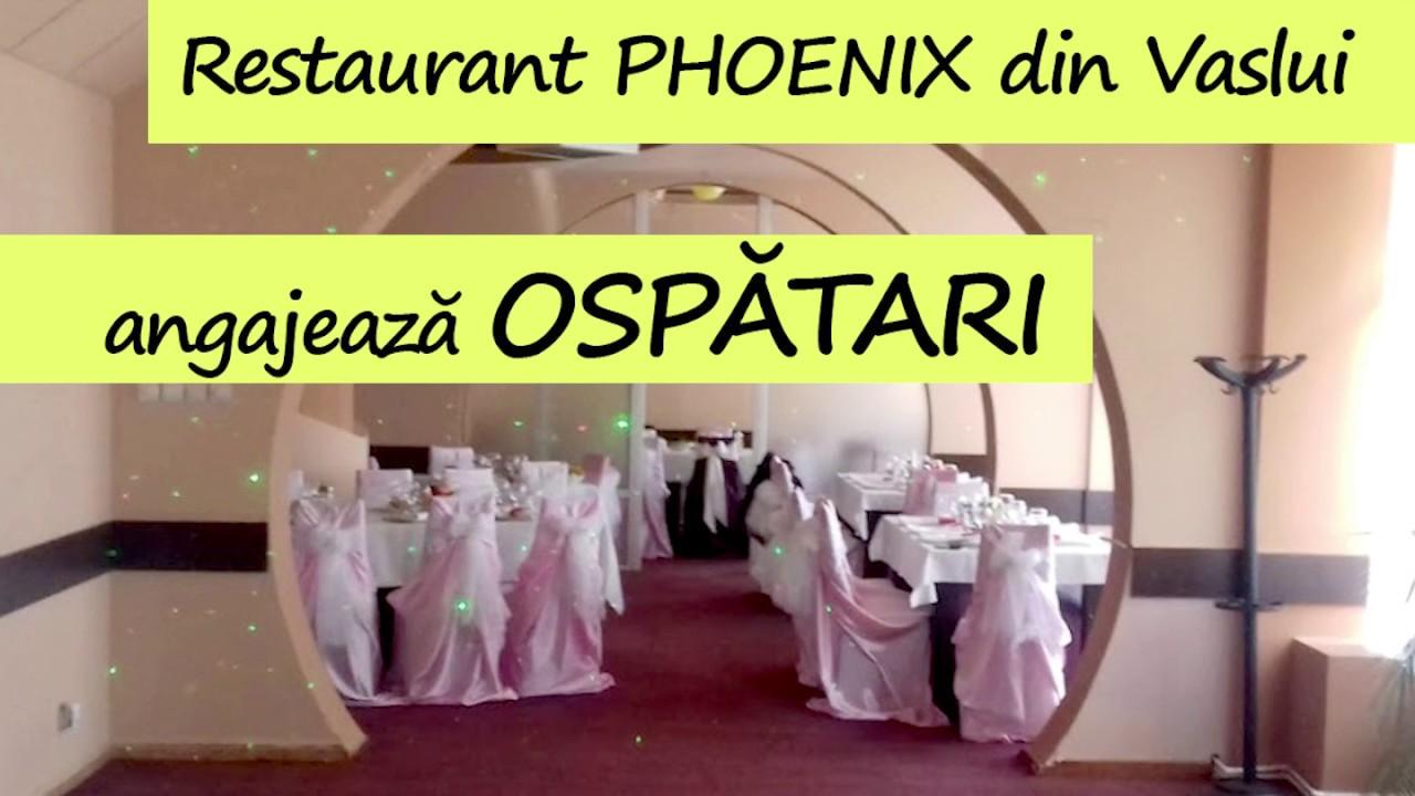 Restaurant din Vaslui angajează ospătari cu minim de experiență
