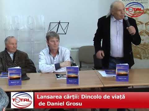 Lansarea cărții: Dincolo de viață de Daniel Grosu