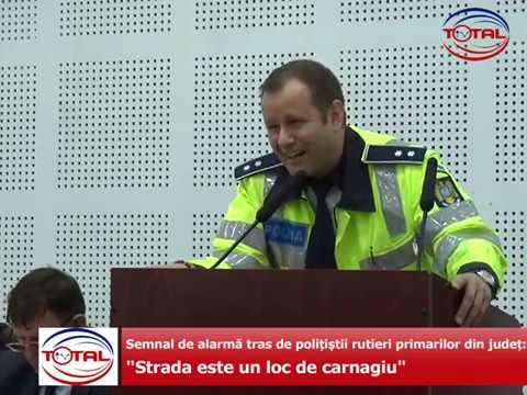 """Semnal de alarmă tras de polițiștii rutieri primarilor din județ: """"Strada este un loc de carnagiu"""""""
