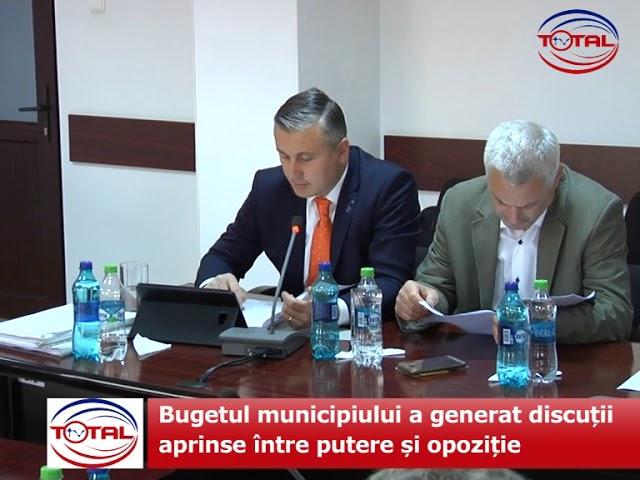 Bugetul municipiului a generat discuții aprinse între putere și opoziție