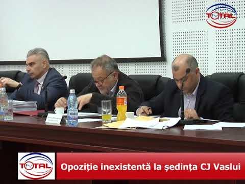 Opoziție inexistentă la ședința CJ Vaslui