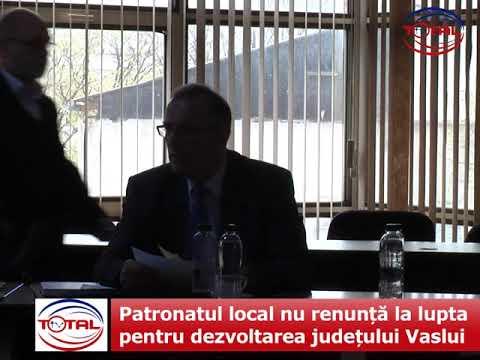 Patronatul local nu renunță la lupta pentru dezvoltarea județului Vaslui