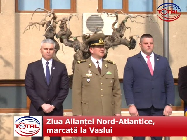 Ziua Alianţei Nord-Atlantice, marcată la Vaslui