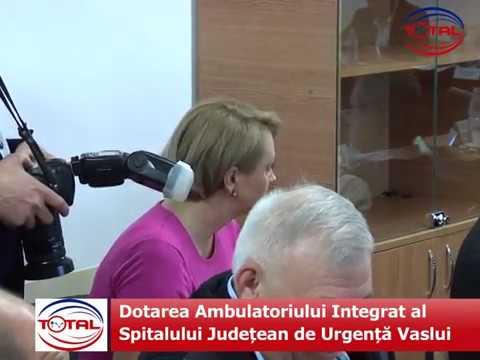 Dotarea Ambulatoriului Integrat al Spitalului Județean de Urgență Vaslui