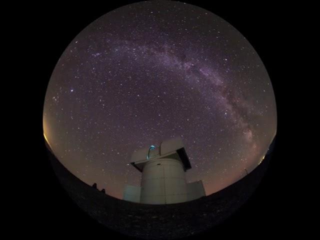 Un nou spectacol documentar de astronomie la Planetariul din Bârlad