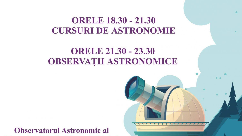 AfiÈ_ È_coala de varÄ_ de astronomie DescoperÄ_ Universul!, ediÈ_ia a VIII-a,