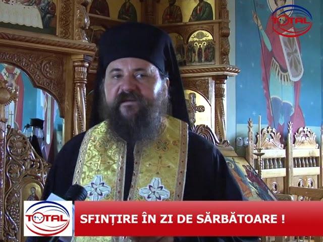 VIDEO: SFINȚIRE ÎN ZI DE SĂRBĂTOARE!