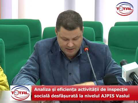 VIDEO: Analiza și eficiența activității de inspecție socială desfășurată la nivelul AJPIS Vaslui