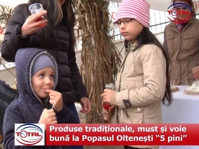 """VIDEO:  Produse tradiționale, must și voie bună la Popasul Oltenești """"5 pini"""""""