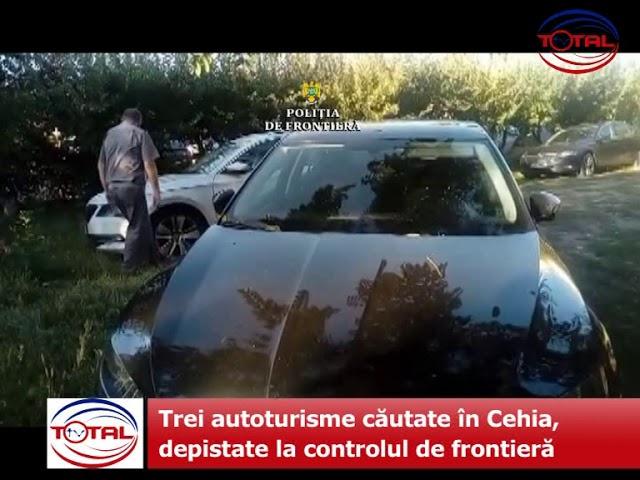 VIDEO: Trei autoturisme căutate în Cehia, depistate la controlul de frontieră