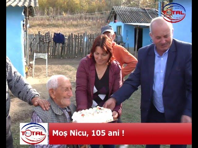 VIDEO: Moș Nicu, 105 ani!