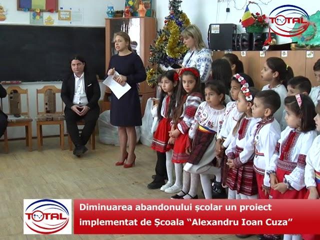 """VIDEO: Diminuarea abandonului școlar un proiect implementat de Școala """"Alexandru Ioan Cuza"""" Vaslui"""