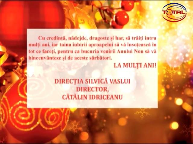 VIDEO: FELICITARE DE ANUL NOU – DIRECȚIA SILVICĂ VASLUI