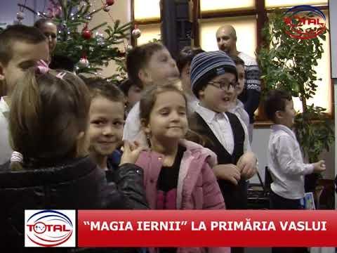 "VIDEO: ""MAGIA IERNII"" LA PRIMĂRIA VASLUI"