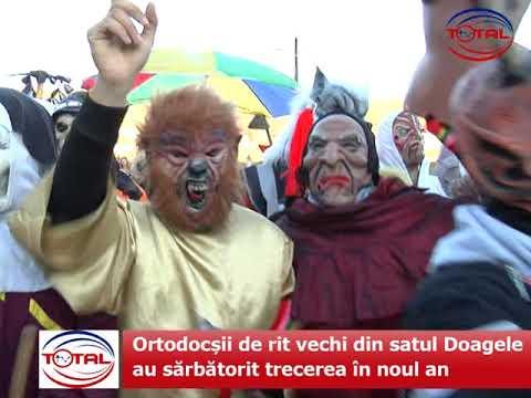VIDEO: Ortodocșii de rit vechi din Doagele, comuna Dragomirești au sărbătorit trecerea în noul an