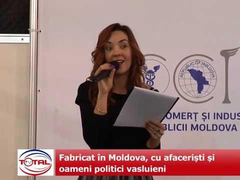 VIDEO: Fabricat în Moldova, cu afaceriști și oameni politici vasluieni