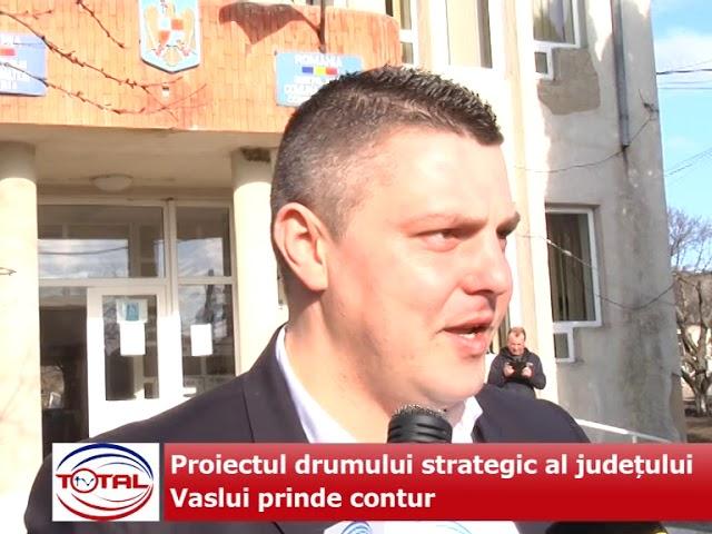 VIDEO: Proiectul drumului strategic al județului Vaslui prinde contur