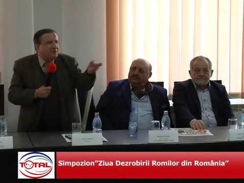 VIDEO: Simpozion Ziua Dezrobirii Romilor din România