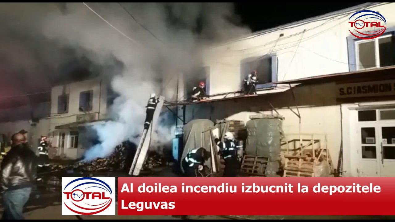 Al doilea incendiu izbucnit la depozitele Leguvas.mpg_snapshot_00.00.277